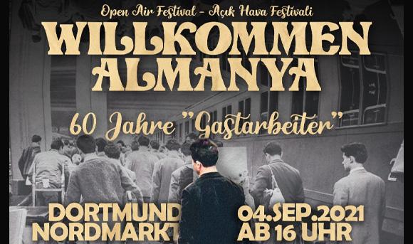 "Open Air Festival ""Willkommen Almanya"""