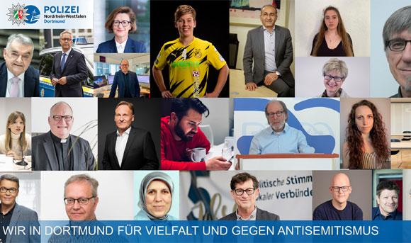 Wir in Dortmund für Vielfalt und gegen Antisemitismus