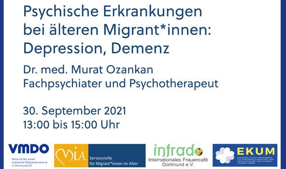Psychische Erkrankungen bei älteren Migrant*innen: Depression, Demenz