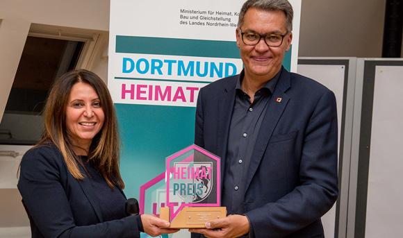"""VMDO-Projekt """"INSIST"""" bekommt den Heimatpreis"""