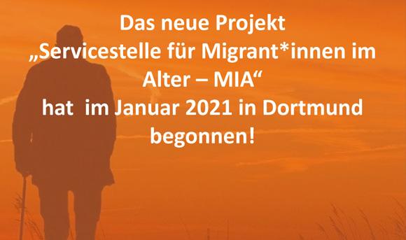 Neues Projekt: Servicestelle für Migrant*innen im Alter (MIA)