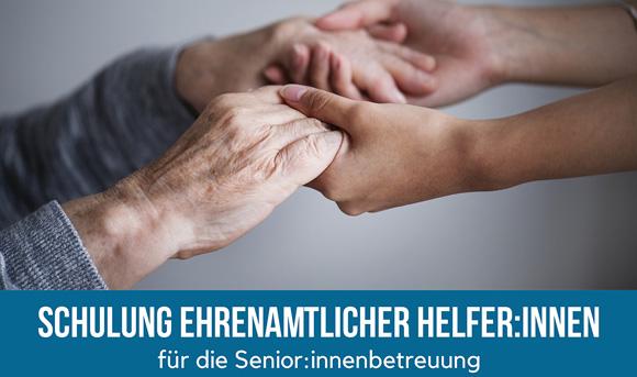 Schulung ehrenamtlicher Helfer:innen