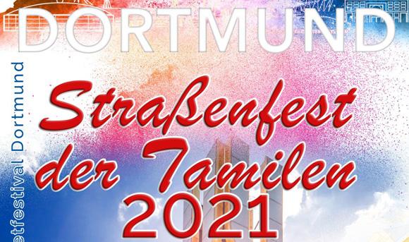 Tamilisches Straßenfest am Dortmunder U