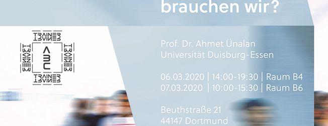 Workshop mit Prof. Dr. Ahmet Ünalan