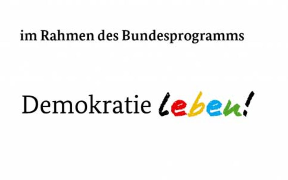 Logo - Demokratie Leben!