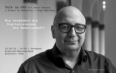 Nächster Talk im DKH und Schülertalk mit Armin Nassehi
