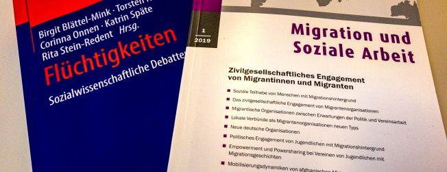 Wissenschaftliche Beiträge zu Lokalen Verbünden von Migrantenorganisationen von VMDO-Projektentwicklerin Dr. Kirsten Hoesch und Gesa Harbig