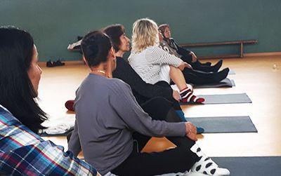 Bewegung und Yoga