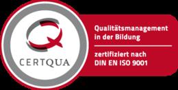 CERTQUA Siegel - Qualitätsmanagement in der Bildung